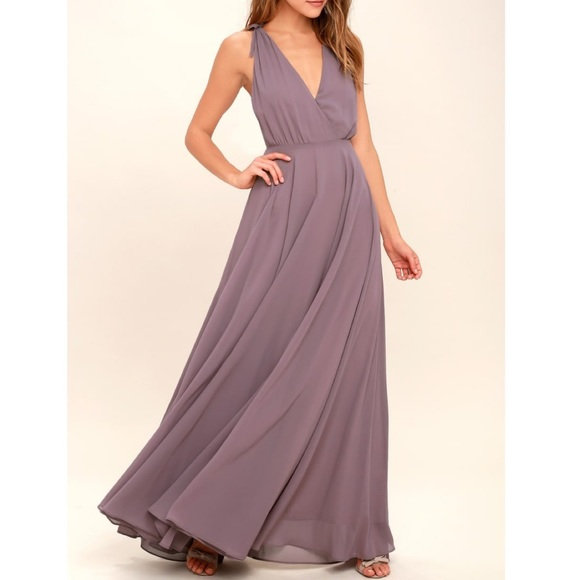 Lulu's Dresses & Skirts - Lulu's chiffon maxi dress NWT